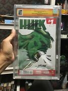Signed Stan Lee Hulk 1 Blank Original Art George Perez And Alex Sinclaire Not Cgc