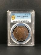 1841 Jersey 1/13 Shilling. Pcgs Pr 63 Bn. Rare. Only 2 Examples Graded.
