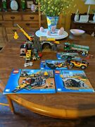 Lego City Mining Lot Of 4 4200420142034204 100 W/instructions See Pictures