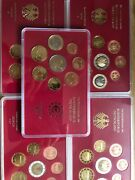 Germany Coins 5x Sets 2003 Proof 1cent To 2andeuro Euro 40coins Adfgj