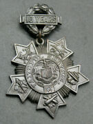 Ny State Medal 10 Years Faithful Military Service Ww1 Dieges And Clust 7665 J2y