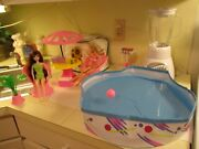 Vintage California Dream Barbie Patio Pool Party No.7767 Arco Extra Bbq Grill