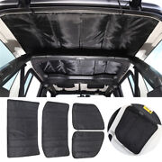 Headliner Roof Heat Insulation Sound Cotton Cover For Jeep Wrangler Jl 2018+ 4dr