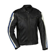 Bmw Motorcycle Motorbike Street Racing Cowhide Leather Sports Ce Armour Jacket