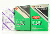 [new X 3 Packs] Fujifilm Fp-100b Instant Bandw Expired 2005-07 From Japan A27