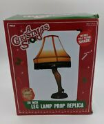 New In Box A Christmas Story Movie Leg Lamp 20 Inch Real Working Light-fun Gift