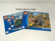 Only Instructions Books 1-4 Lego 4204 The Mine Town City Constructions No Brick
