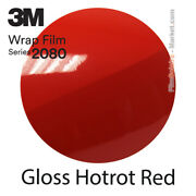 Gloss Hotrot Red 3m 2080 G13 New Series Car Wrapping Total Covering Vinyle Film