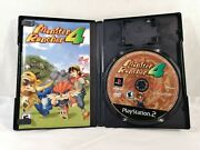 Monster Rancher 4 Sony Playstation 2, 2003 Rare Ps2 Game Tested Very Good Cond