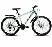 21 Speed Aluminum Alloy Mountain Bike,adult Suspension Bicycle Shimano Tourney