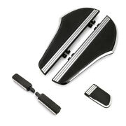 Defiance Driver Floorboards Kits Brake Pedal Cover For Harley Touring 1980-2020