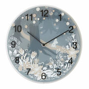 Moomin Watch Wall In The Forest Time Pea Seas Toy Clock Glass Congratulations