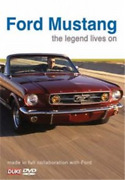Ford Mustang The Legend Lives On Dvd Neuf