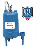 Goulds Rgs2012 2hp Submersible Grinder Pump
