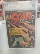 All Star Comics 13 1942 Cbcs 6.5 Ad For Wonder Woman 1 Hitler Appearance