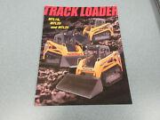 Mustang Mtl16, Mtl20 And Mtl25 Track Loader Brochure 4 Page