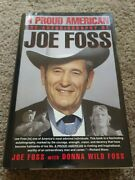 Signed Copy A Proud American Autobiography By Joe Foss 1992, Hardcover