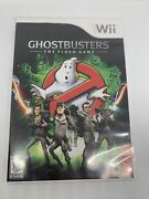 Ghostbusters The Video Game Nintendo Wii Game Complete Tested