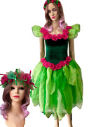 Womenand039s Adult Tinker Bell Costume Adult Fairy Dress Tinkerbell And Free Headpiece