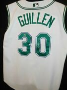 Jose Guillen Signed Game Used Jersey - Asi Coa Rays Loa - Tampa Bay Rays-rare