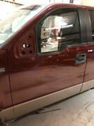 04-05 Ford F150 Used Lh Left Front Door W Glass And Reg King Ranch T5 Paint