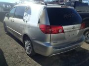 04 05 06 07 08 09 10 Toyota Sienna Complete Rear Clip W/top And Gate Silver Grey