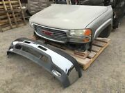 01 02 Gmc Sierra 2500 8.1l 82k 4x2 Front End Clip Hood Fenders Bumper And Cooling