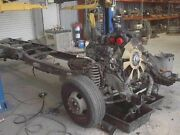 08 09 10 Ford F350 Super Duty 176 Wb Cab Chassis Bare Stripped Frame Only