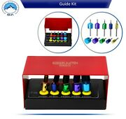 Dental Drill Implants Guide And Positioning Kit Titanium Guided Bur Surgery Pins