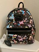 Walt Disney World 2018 Annual Passholder Loungefly Mini Backpack Bag Brand New