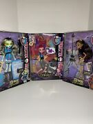 Monster High 13 Wishes Gigi Grant Doll And Scaris Clawdeen And Frankie Lot