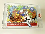 Fernando Tatis Jr Auto /23 Ermsy - Topps Project 70 -very Rare, Sold Out-in Hand