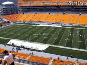 8 Steelers Vs Bengals Tickets 20 Yard Line Under Cover Aisle Seats