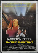 Blade Runner 1982 Orig 39x55 Italian Movie Poster Harrison Ford Sean Young