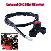 Universal Cnc Billet Kill Switch For Atv Motorcycles Use The 22mm Handlebar.