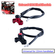 Universal Cnc Billet Kill Switch For Quard Motorcycles Use The 22mm Handlebar