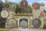 Ireland Coins 2andeuro To 1 Cent Set Al 8x Complete Heywood Gardens Co. Laios New Kms