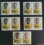 Rookie 5 X Cards Haaland/sancho Bvb Panini 181 Sold Out Great Investment