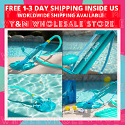 Climb Wall Pool Cleaner Automatic Suction Vacuum Cleaner 30 Foot Hose For Intex