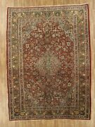 Hand-made 9and0392 X 12and0392 Antique Bidjar Hand-knotted Area Rug