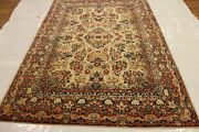 Hand-made 6and0393 X 9and0394 Antique Mas/had Hand-knotted Area Rug
