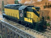 Ho Scale Athearn Genesis Gp9 W/steam Generator Cnw Chicago And North Western New