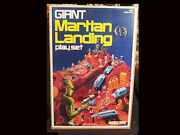 Marx Giant Martian Landing Playset 1977 New In Box - Sealed Bags Mint Cond.