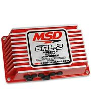 Msd Ignition 6421 Ignition Box 6al-2 W/2-step Limiter For 4/6/8 Cylinder Red