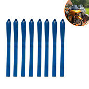 8 Pcs Soft Motorcycle Loop Tie Down Straps For Towing Cargo Atv Utv Blue 320mm
