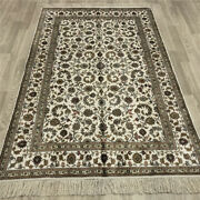 Yilong 4and039x6and039 Handwoven Silk Carpets Home Interior Antistatic Indoor Rugs 047b