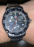 Tag Heuer Formula1 Chronograph Ca1211- Swiss Made 200 Meters Vintage Collectible