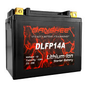 Banshee Lithium Lifepo4 Replacement For Ytx12-bs Sealed Motorcycle Battery