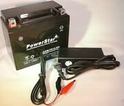 Ytx12-bs Battery/charger For Honda Atv Trx250 Recon Fourtrax Trx200 Atc