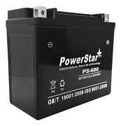 Powerstar® Ytx20l-bs Motorcycle Battery For Honda Gl1800 Gold Wing 1800cc 01-'09